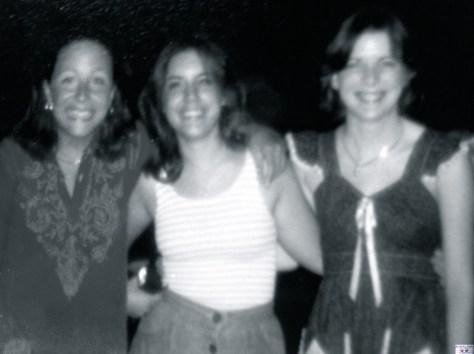 Elaine Van Develde, Alisa Roblenski and Elaine Kraft — Barn Theatre buddies rehearsing Bye Bye Birdie in 1977. Photo/Elaine Van Develde