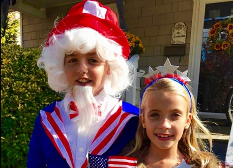 Uncle Sam and Miss America Photo/Jenny Costello