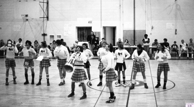 Retro RFH Basketball Court Cheer