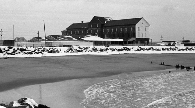 Retro Snow-Capped Peninsula House Paradise