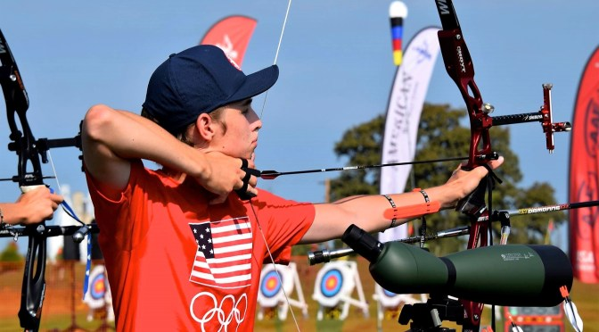 RFH's Nikolas Swidryk: A Junior Dream Team Archer