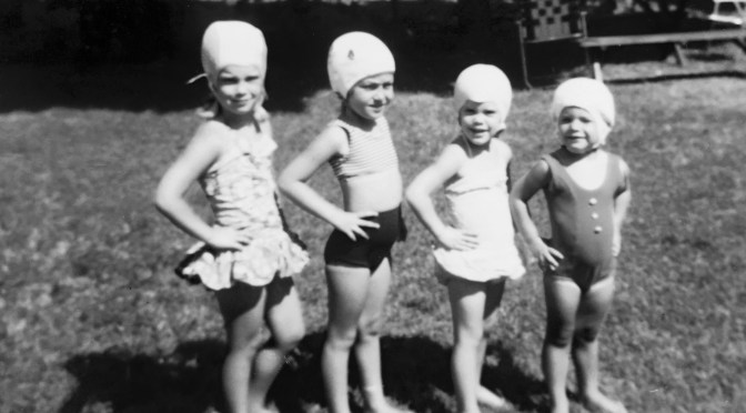 Retro Neighborhood Kids: Bathing in the Beauty of Firsts