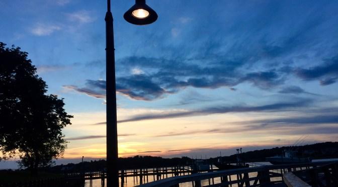Focus: It's Another Fair Haven Dock Sunset