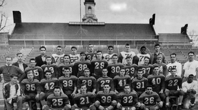 Retro 1951 Rumson High Football Kicks