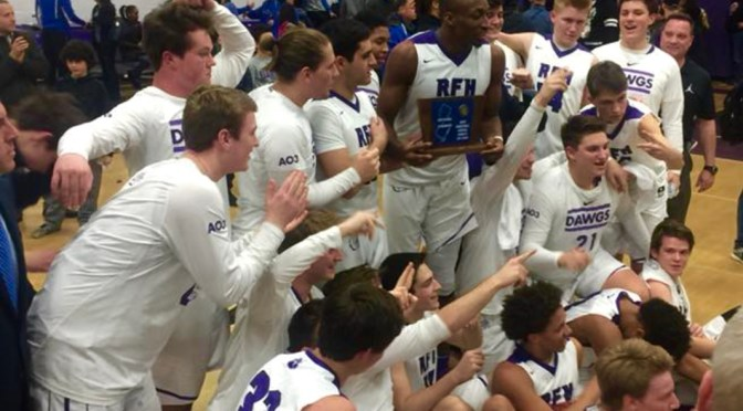 Scene Around: A Triumphant RFH Boys Basketball Win