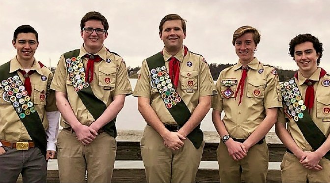 Fair Haven: Five Earn Eagle Scout Rank