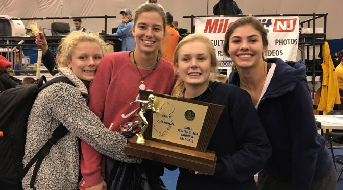 Reflection: A History-Making Season for RFH Girls Winter Track