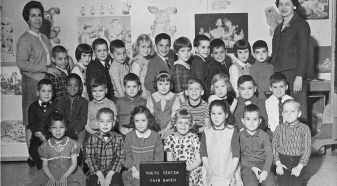 Retro Kindergarten A.M. Class Act