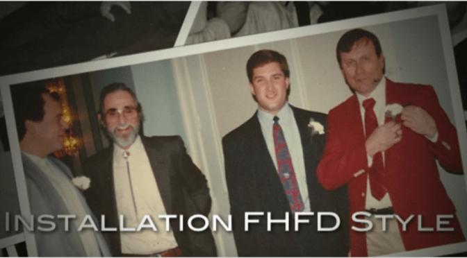 Retro FHFD Installation Dinner Moments