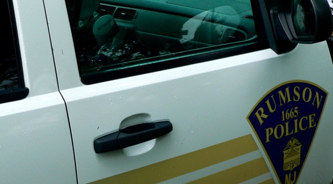 Rumson Police Take Their Car Theft Message to the Streets