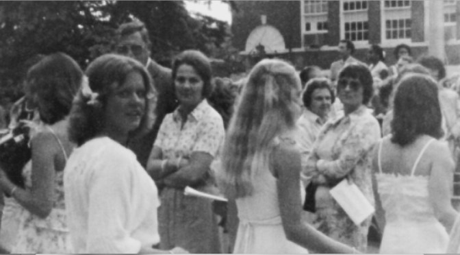 Retro RFH Graduation: The Daisy Chain Girl
