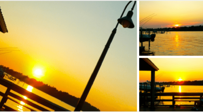 Simple Summer: Fair Haven Dock Sunset Solace