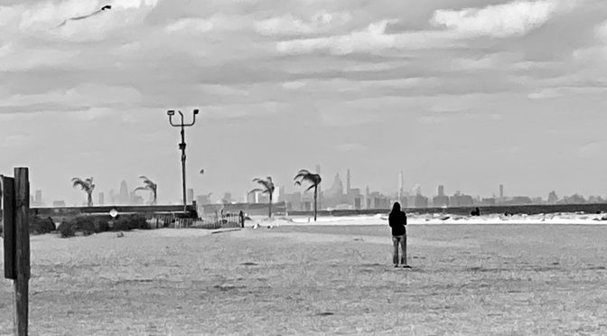 Focus: Black & White; Skyline from Sea Bright