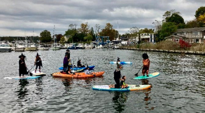 Scene Around: Witchy Women's River Paddle Haunt