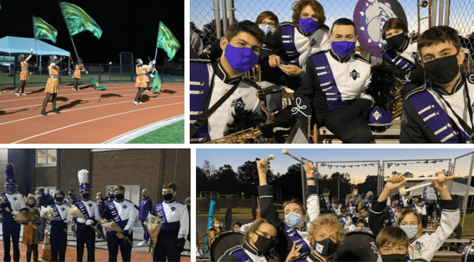 Scene Around: RFH Marching Band, Color Guard Show Goes On
