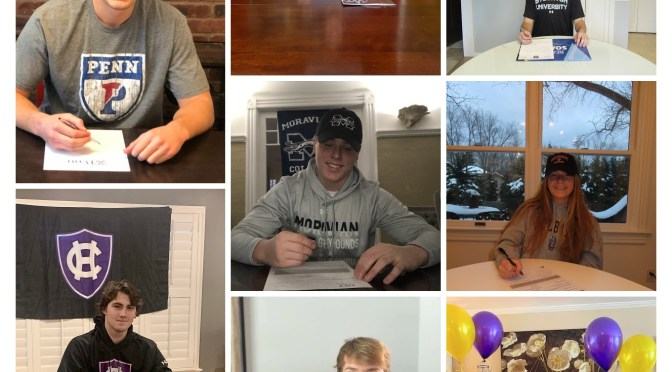 A Virtual RFH Student-Athletes' Signing
