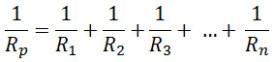 rumus resistor pengganti rangkaian pararel