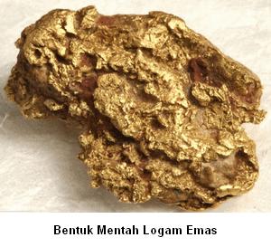 manfaat unsur logam emas