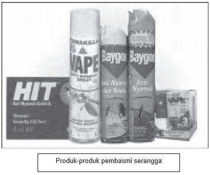 produk pembasmi serangga