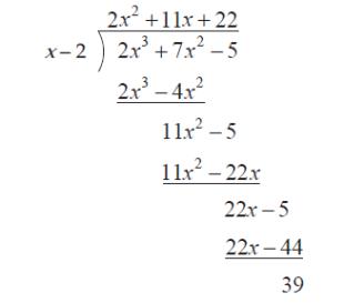 porogapit dan teorema sisa