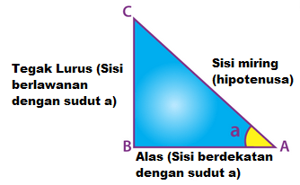 Identitas Trigonometri Segitiga Siku-Siku