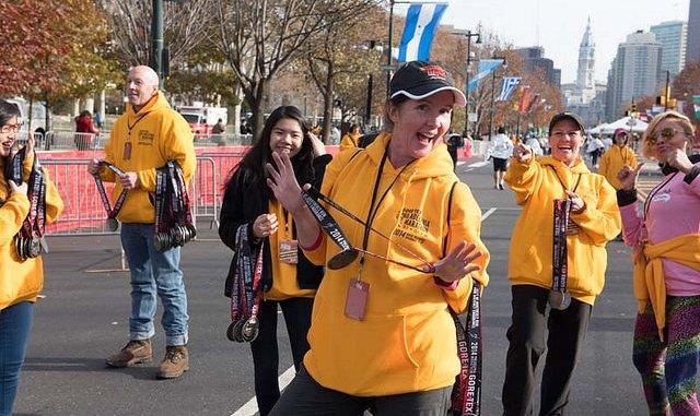 race volunteers