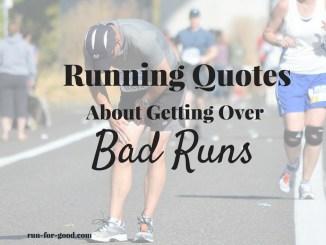 Running Quotes Bad Runs