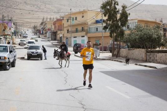 Run across Jordan Day 4 in a village