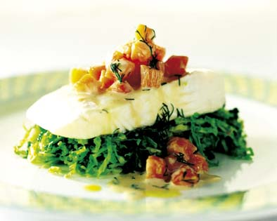 Image: FRF-ABP98-00000907-001, Steamed halibut and cabbage - NO TO COOKBOOKS, License: Rights managed, Model Release: No or not aplicable, Property Release: No or not aplicable, Credit line: profimedia.cz, Fresh Food