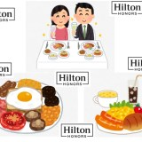 【裏ワザ】16500円でヒルトン(Hilton)の朝食を何度でも無料にする方法!