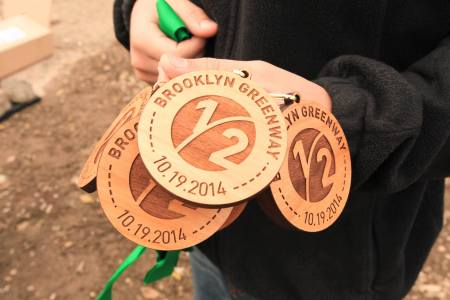 What my medal will look like if/when it arrives in the mail.