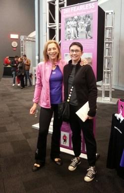 Kathrine Switzer and me!