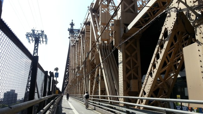 Crossing the 59th Street Bridge