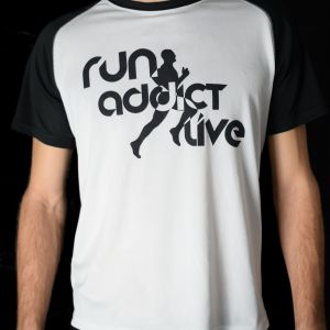 T-shirt run addict live