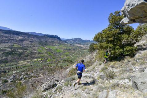 paysage trail de la Drôme