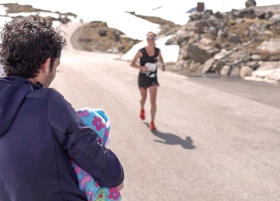 Emelie Forsberg, être athlète et mère à la fois