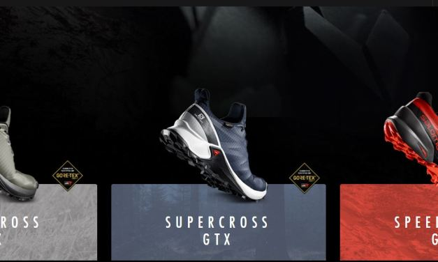 Salomon élargit sa gamme «Cross»… les chaussures Speedcross, Supercross et Alphacross arrivent.