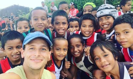 Nick Butter devient le premier homme à courir un marathon dans chaque pays du monde.