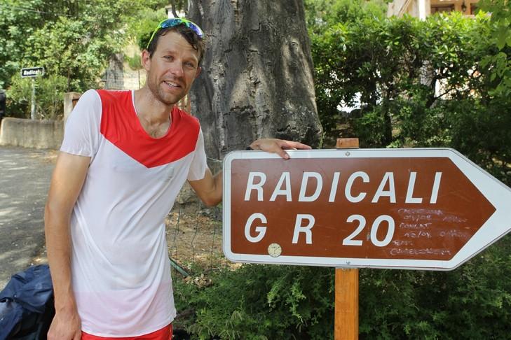 Record François D'Haene GR20, 31h06 pour traverser la corse en courant!
