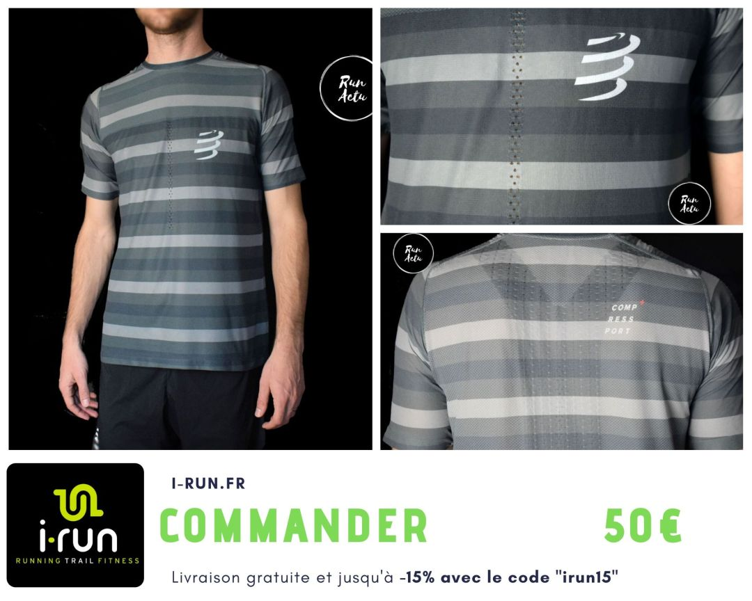 Compressport t-shirt performance