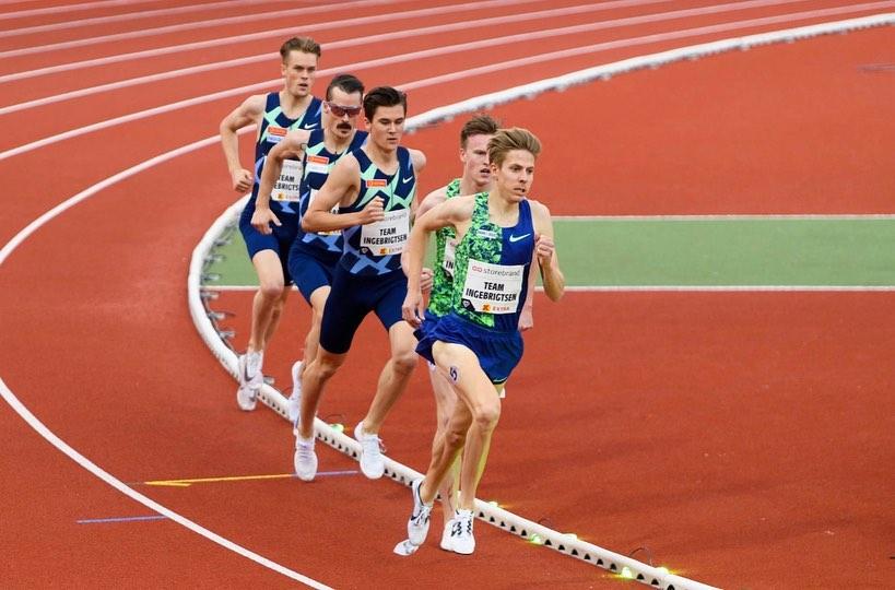 record d'europe 2000m Jakob Ingebrigsten