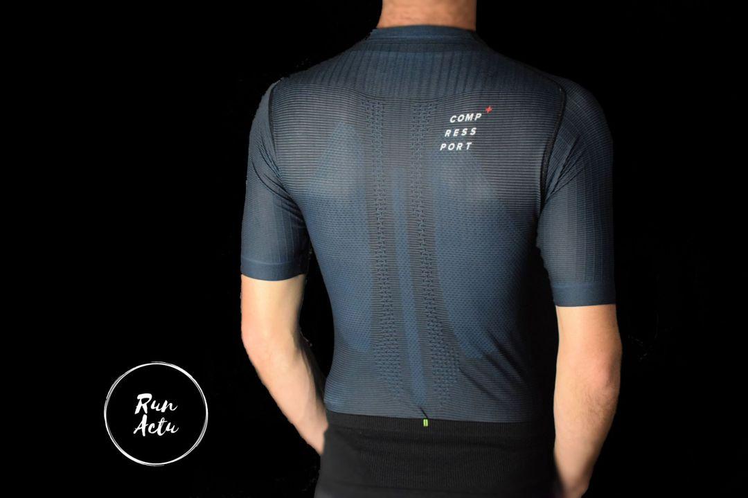 test t-shirt trail compressport postural