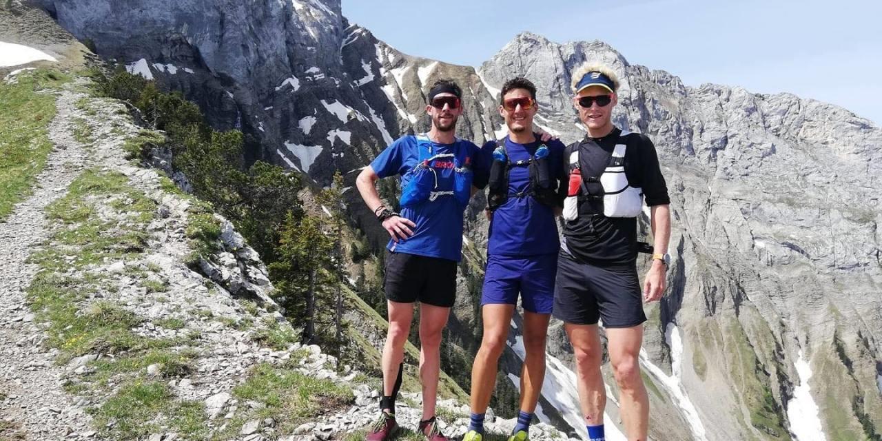 Record GR5, traversée de Chamonix à Briançon en 31h46 pour Martin Kern, Baptiste Robin et Gregoire Curmer