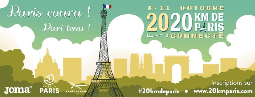 20 km de Paris en mode connecté pour soutenir l'Institut Pasteur.