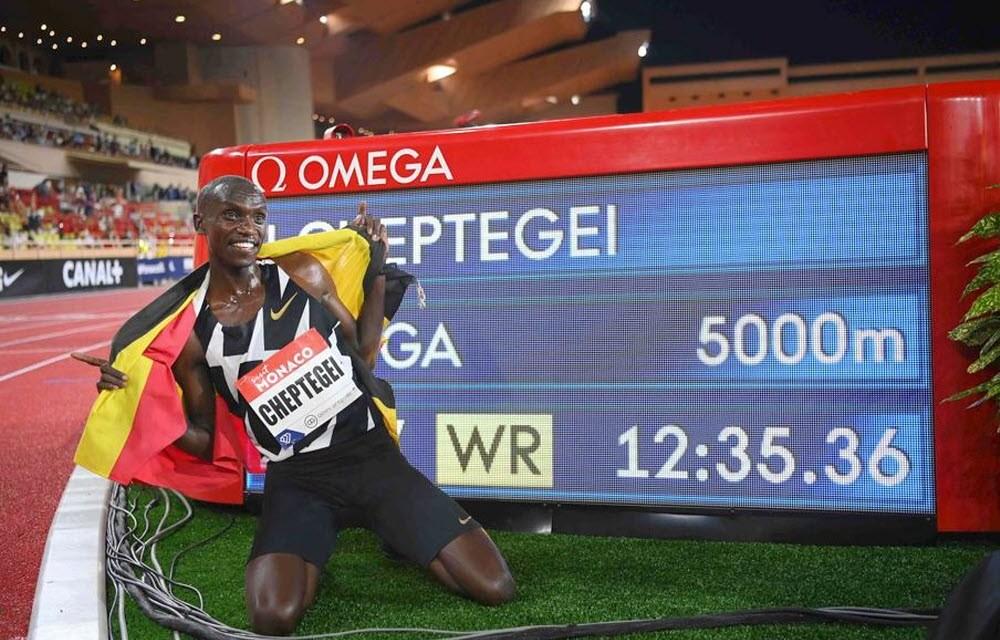 Record 5000m Cheptegei Joshua, l'analyse de sa course disponible sur Strava