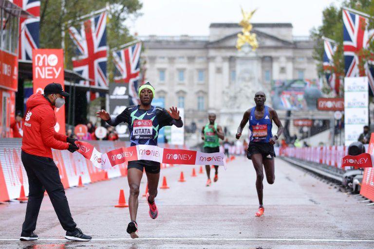 Résultats Course à pied; Week-end du 3/4 octobre 2020. Marathon de Londres, Ultra-Trail des Montagnes du Jura