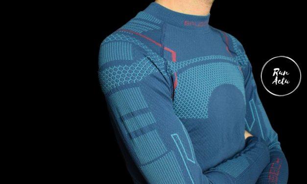 Test Brubeck, le sweat-shirt manches longues thermorégulateur idéal pour la saison hivernale.