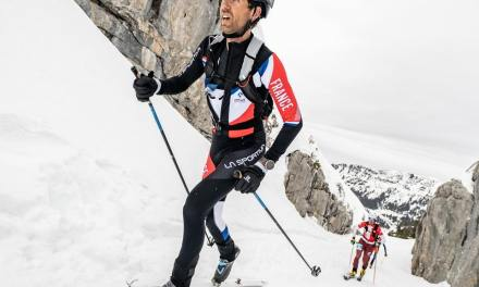 François D'haene en équipe de France de… ski alpinisme et une première participation à une épreuve de coupe du monde.