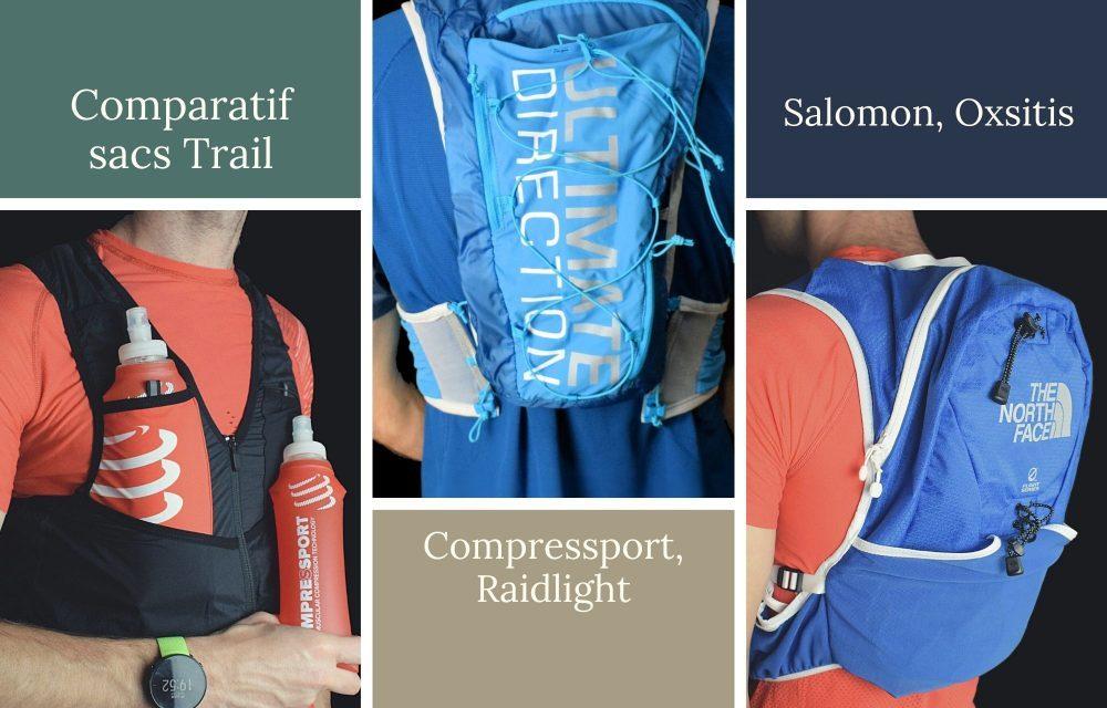 Comparatif sacs de trail; découvrez les meilleurs sacs trail et running au travers des nombreux tests