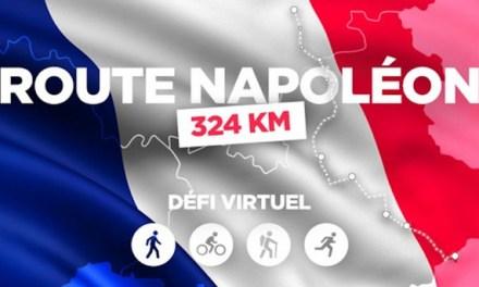 Route Napoléon, la course virtuelle proposée par l'application JustMove.